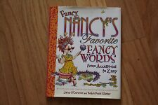 EUC Excellent Condition Fancy Nancy's Favorite Nancy Words Hardcover