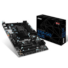 MSI Mainboard 970A-G43 PLUS AM3+ max 32GB 4x DDR3 NEU
