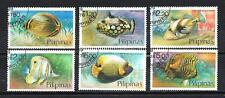 Poissons Philippines (66) série complète de 6 timbres oblitérés