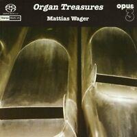Mattias Wager - Organ Treasures [New SACD] Hybrid SACD