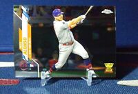 2020 Topps Chrome Update Pete Alonso ASG Rookie Cup U-84 New York Mets