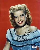 Gloria Dehaven Psa Dna Coa Autograph 8x10 Photo Hand Signed