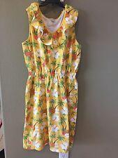 Ladies MOM Dress GYMBOREE size 8 PINEAPPLE FAMILY new 62.95