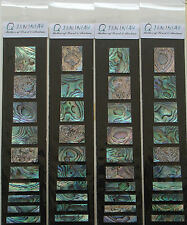 Genuine Solid Paua Abalone Block Inlay Set for Les Paul Custom Style,1set