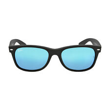 Ray Ban New Wayfarer Blue Gradient Lens 55mm Mens Sunglasses RB2132 622/17 55-18