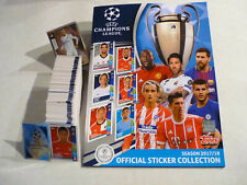 Topps komplett Champions League 17 / 18 alle Sticker + Album - Rookie Mbappe