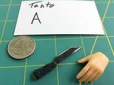 """Tanto A "" 1:6 Scale Custom Steel Miniature Knife By Auret"