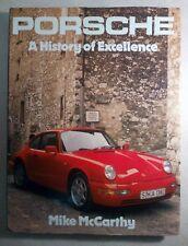 Porsche: A History Of Excellence - McCarthy - Hardcover - 1989 Reprint