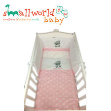 Personalised Girls Pink Star Me To You Crib Bedding (NEXT DAY DISPATCH)
