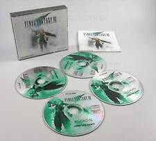 Final Fantasy VII 7 deutsche Version PC 1998 vier CDs in original Hülle