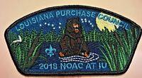 COMANCHE OA LODGE 254 BSA LOUISIANA PURCHASE LA NOAC 2018 BEAR CSP ONLY 100 MADE