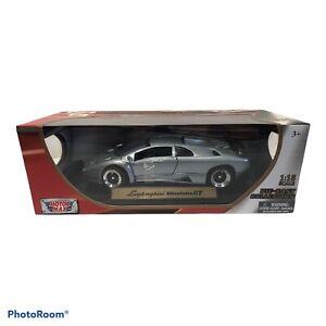 New in box 1:18 Motor max Lamborghini Diablo GT Gray  same day shipping NICE