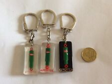 3 Porte Clefs Bourbon AMORTEX-keychain