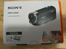 Sony Handycam HDR-CX440 8GB Wi-Fi 1080p HD Video Camera Camcorder new