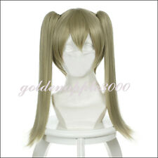 "18""45cm SOUL EATER MAKA ALBARN + 2 Clip Ponytail Cosplay Wig"