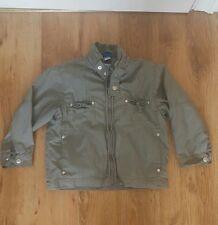 Boys Coat Jacket Lightweight Khaki Green 4 years Adams Smart Lined