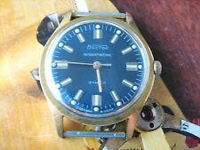 SALE!Vintage Vostok 2209 antimagnetique,deep blue dial,beautiful,10 m. GP,80y/XX
