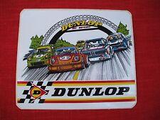 1970's vintage  dunlop  tires decal,le mans  grand prix ,BMW ,PORSCHE,FORD CAPRI