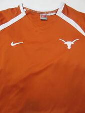 Nike Men's UT Texas Jersey Shirt XXL Length 2+ Sports Apparel Orange/White #F5