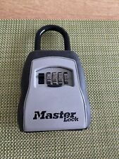 Master Lock 5400D Set Your Own Combination Portable Lock - Black