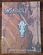 Werewolf: The Forsaken Storyteller's Screen (World of Darkness, White Wolf)