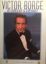 Victor Borge in Concert & Encore! Region  PAL DVD VGC