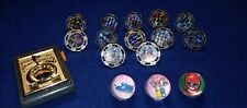 Vintage Power Ranger Battle Launchers & Spinners 1 launcher, 12 Spinners Works