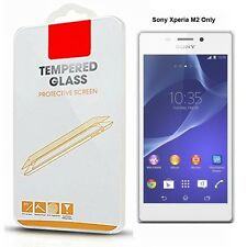 SONY XPERIA M2 100% TEMPERED GLASS SCREEN PROTECTOR