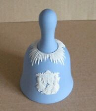Wedgwood Jasperware Blue Christmas 1997 Bell
