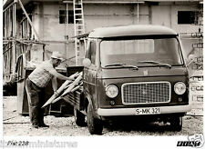 Fiat 238 Van Pick Up Truck Building Site Original Foto Photograph