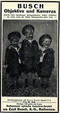 RATHENOWER OPTISCHE ANSTALT vorm.Emil Busch  Historische Reklame 1907