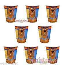 SCOOBY DOO 9oz Paper CUPS (8) ~ 'Fun Times' Birthday Party Supplies tableware