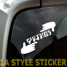 Picture This sticker the Shocker dubway OEM style foto búsqueda automática sticker