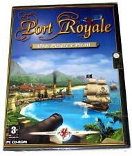 PORT ROYALE ORO POTERE E PIRATI GIOCO PC CD WINDOWS ITA