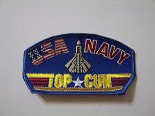 U.S. NAVY TOP GUN CAP/JACKET PATCH VA9-4