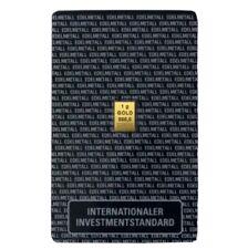 Goldbarren 1g 999,9 Feinheit Fine