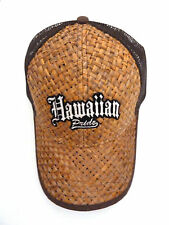 Lauhala Baseball Cap with Hawaiian Pride - Limited Special Edition - Brown