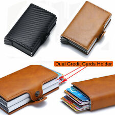 Wallet For Men Slim Mini Secrid Aluminium RFID Blocking Dual Credit Cards Holder