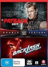 WWE: Payback/backlash 2017 - WrestleMania NEW R4 DVD