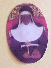 Saint Catherine of Bologna Small Oval Image, New from Italy
