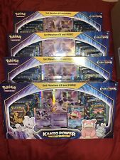Pokemon TCG: Kanto Power Collection Box Mewtwo EX Xy Evolutions IN HAND Sealed