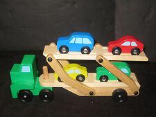 Montessori Waldorf Wooden Melissa & Doug Car Carrier