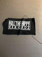 [9042 - PA1] Patch tissus pour t-shirt - coton - Punk- Kill the hippy