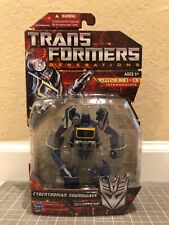 Transformers Cybertronian Soundwave Deluxe Class Generations Hasbro New MISB