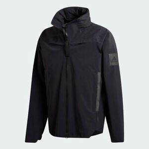 Adidas Myshelter Rain Jacket Black Small New