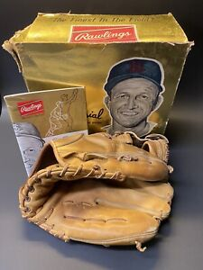 Vintage RARE 1962 Stan Musial Personal Model 6 Baseball Glove with Original Box