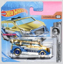 HOT WHEELS CASE G 2019 SUPER CHROMES SPEEDBOX SHORT CARD
