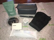 New Cole Haan Travel Accessory Amenity Toiletry Kit Bag American First Class