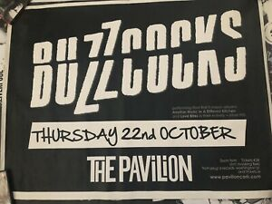 BUZZCOCKS ORIGINAL POSTER - CORK PAVILION, IRELAND 2009