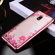 Luxury Case For Samsung J3 J5 J7 Pro 2017 S9 Hybrid Rubber Crystal Diamond Cover